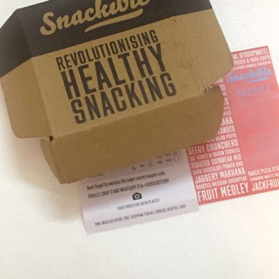 Snackible Snacks (Giveaway)