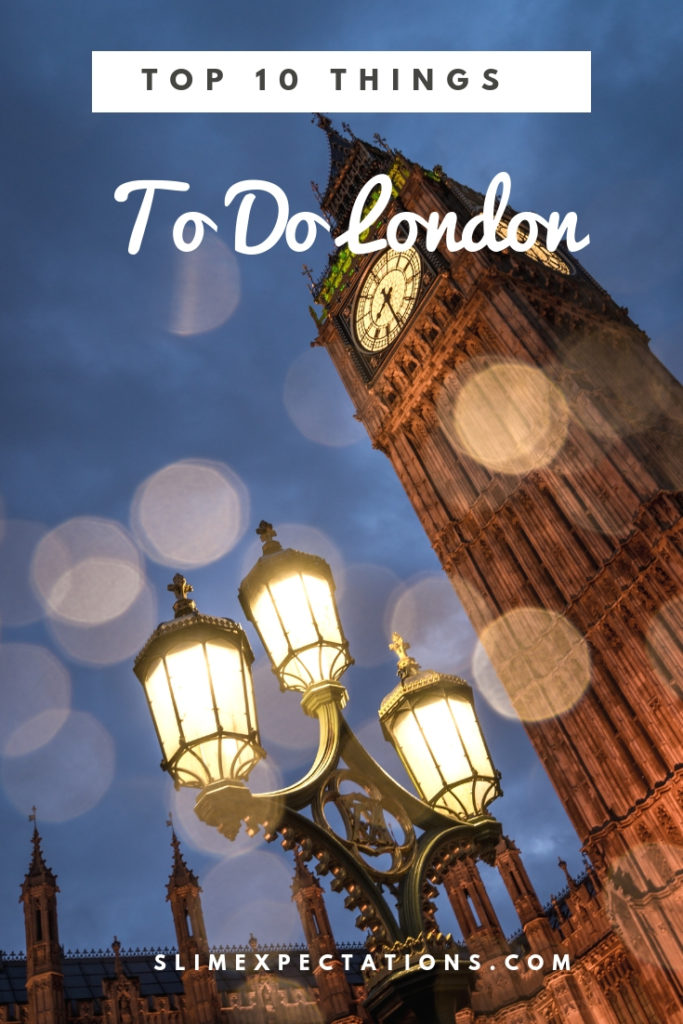 London travel tips and things to do. #london #familytravel #londonwithkids #afternoontea #londontravel #SlimExpectations