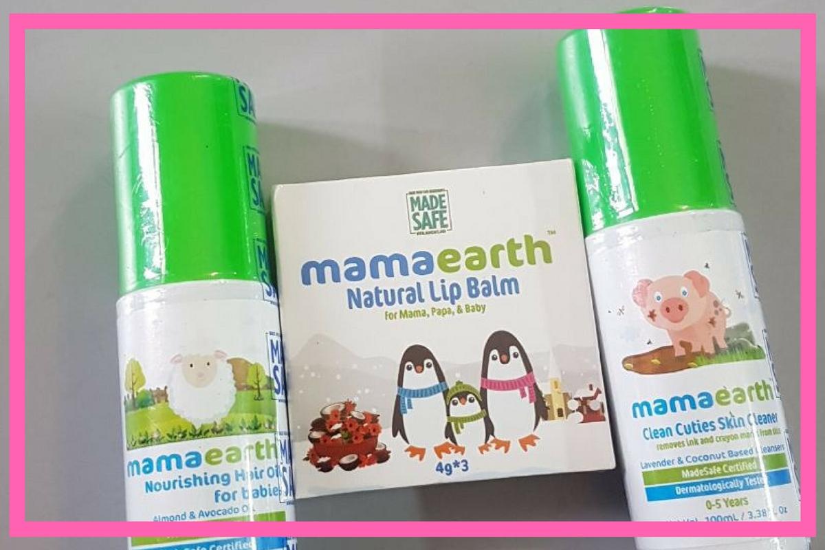 Mama Earth Launches Three Fantastic Products  #MamaEarth