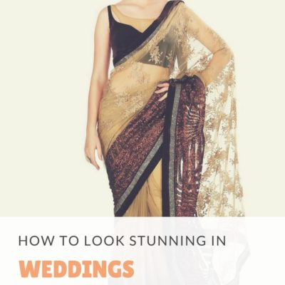 How to look stunning at weddings