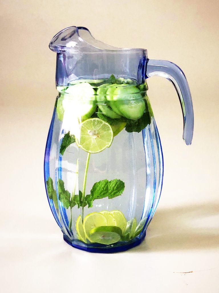 Jug full of water