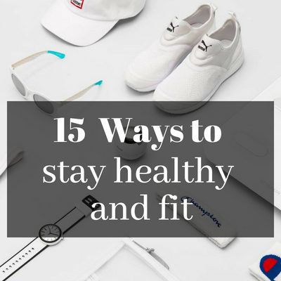 15 Ways to stay healthy and fit #MyFriendAlexa