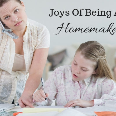 Why I love being the homemaker that I'm #Momsspeakup