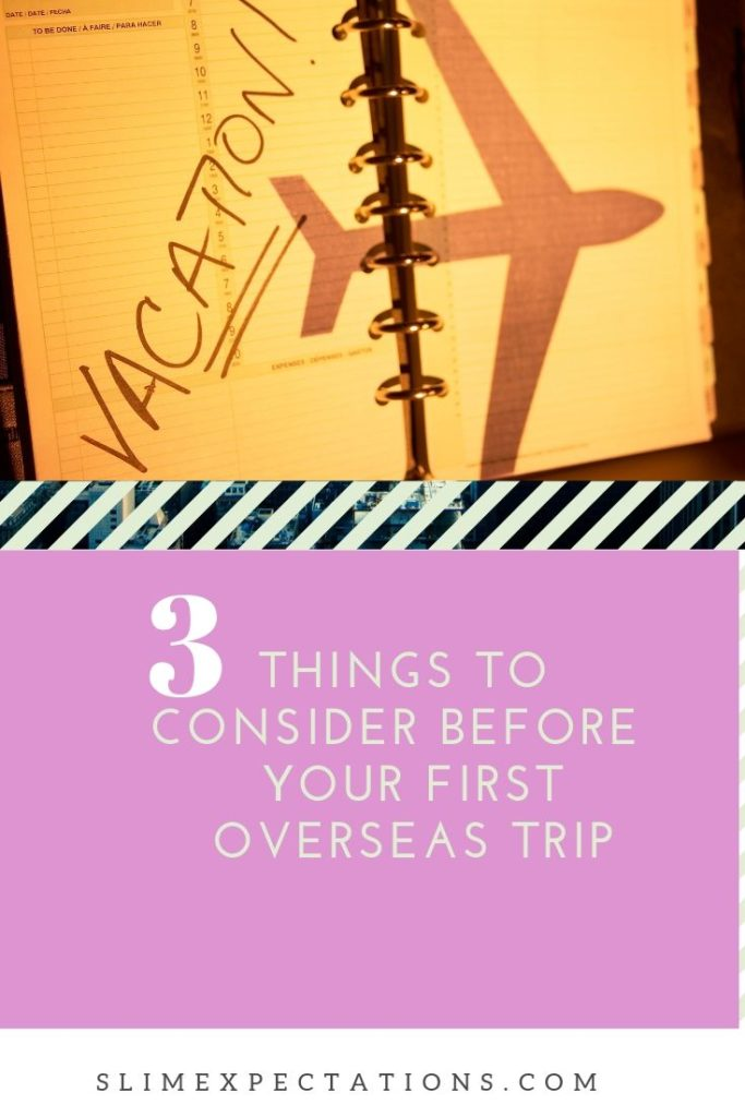 Tarvel tips for your first international  visit #SlimExpectations #TravelTips #Travel #photography #travelblogger