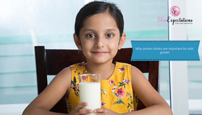 Why protein drinks are important for kids' growth
