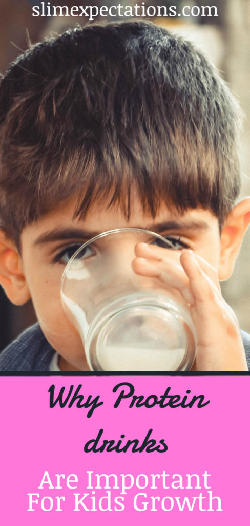 Why protein drinks are important for kids' growth #easypeasycreativeideas #smoothies #smoothierecipes #proteinsmoothies #proteindrinks #slimexpectations