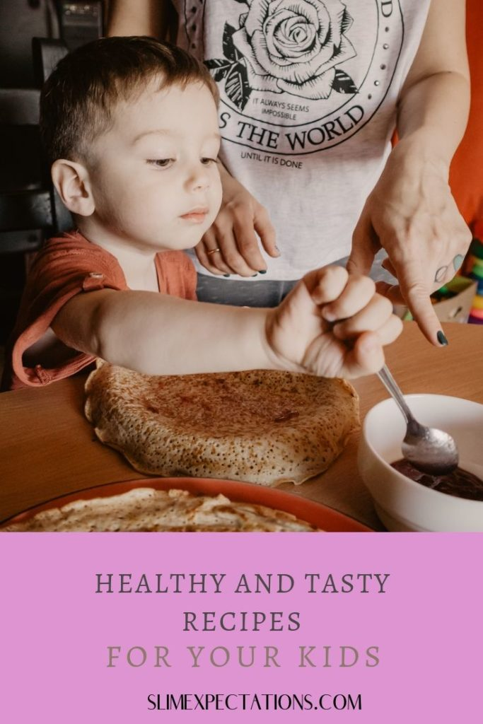 Healthy Smoothie Recipes For Kids #SmoothieRecipe #SmoothieForKids #SmoothieKidsLove #RecipesKidsLove #HealthyRecipeForKid #3IngredientsRecipeForKids #IdeasForKids #slimexpectations