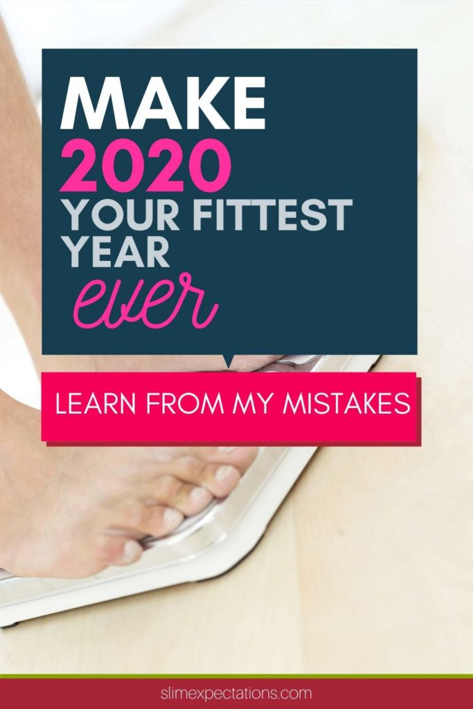 Make 2020 your fittest year ever #fitness #fitnessgoals #fitmom #slimexpectations